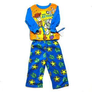 Toy Story 4 Blue Woody & Buzz Pajama Set